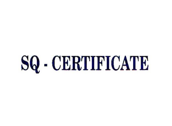 SQ Mark Certified